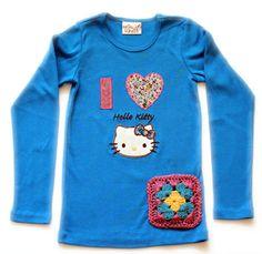 Misha Lulu Hello Kitty Patchwork Tee (FINAL SALE $24, sz 12/18mo