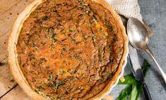 Ramslökspaj Kebab Wrap, Anti Inflammatory Recipes, Quiche, Good Food, Pizza, Ost, Breakfast, Ethnic Recipes, Morning Coffee