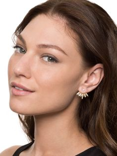 Cairo Ear Jackets Earring | BaubleBar