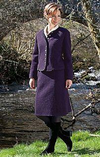 Ladies Boiled Wool Skirt