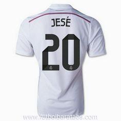 Nueva camiseta de Jese 1st Real Madrid 2015 baratas