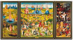 """El jardín de las delicias"""" (1515)  El Bosco"""