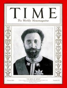 Selassie on Time Magazine cover 1930 - Haile Selassie - Wikipedia, la enciclopedia libre