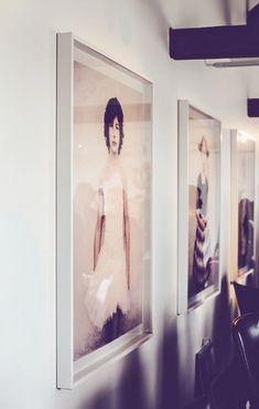 children's portraits blown up in large format prints via olsson & jensenelle decoration.mokkasin. / sfgirlbybay