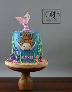 Little mermaid by Lori Mahoney (Lori's Custom Cakes)