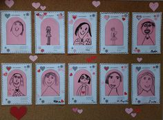 Moje maminka - kresba fix. Mothers Day Crafts, Happy Mothers Day, Grandparents Day, Mother And Father, Fathers Day, Art For Kids, Diy And Crafts, Stitch, Mother's Day