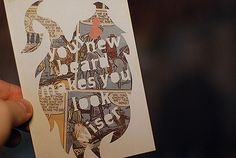 ...Creative Inspiration...     booooooom design for mankind free encouragement project postcard
