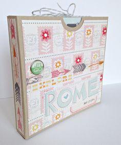 Rome mini album - Scrapbook.com