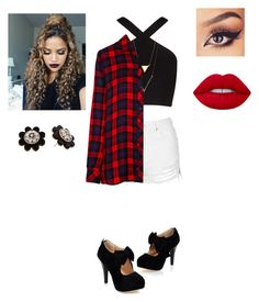 """""""Scott McCall's Sister, Gemini (I'm starting this Teen Wolf series thing on here, it's hard to explain so stay updated!)"""" by kiaraobrien on Polyvore featuring beauty, BCBGMAXAZRIA, Topshop, Rails, Brooks, Lime Crime and Kate Spade"""