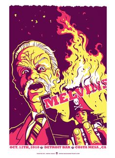 Melvins Shake tha' mortar outta' tha' bricks...