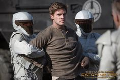 The heart of a rebel... - Gale Hawthorne (Liam Hemsworth) in The Hunger Games: #CatchingFire. (Photo credit: Murray Close)