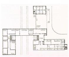 Walter Gropius. Bauhaus. Dessau. 1925-26 #architecture #bauhaus