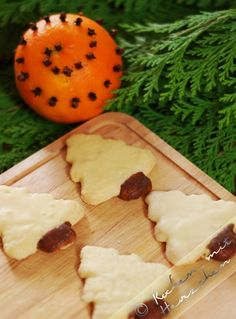 Kochen mit Herzchen - ♥ Mein Koch-Tagebuch mit viel Herz ♥: Weihnachtsbäckerei #4 - Orangentännchen
