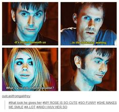 Honestly love this. They've got to be my favorite pair of Doctor and companion, although I love the the others, too!!!