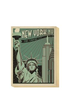 "ANDERSON DESIGN GROUP ""New York, New York, The Empire City"" Canvas"
