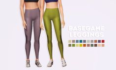 """kumikya:"""" i made these a couple weeks ago, but only now decided to upload them. these are an edit of the leggings that came with fitness stuff. they're higher waisted and end a lil bit shorter so they don't disappear into some shoes. Sims 4 Cc Skin, Sims 4 Mm Cc, Mother Daughter Dates, Sims 4 Cas, Sims 4 Cc Finds, Pants For Women, Clothes For Women, Sims 4 Clothing, Sims Mods"""