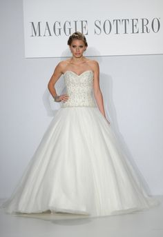 Maggie Sottero Spring 2014 Wedding Dresses #maggiesottero