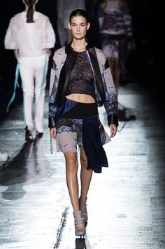 Prabal Gurung Just Nailed the Sporty Vibe (and There Wasn't a Sneaker in Sight!): With athleticism becoming a major touch point with today's designers, it was no surprise that Prabal Gurung made American sportswear the focus of his Spring 2015 collection.