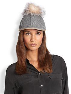Lola - Thumpers Wool & Fur Pom-Pom Hat