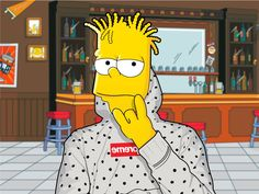 Sneaker Art, Found Art, Bart Simpson, Guys, My Style, Prints, Fictional Characters, Instagram, Design