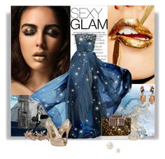 """Sexy Glam"" by railda-pereira ❤ liked on Polyvore featuring Elie Saab, Rauwolf, Modern Bride, ESPRIT, Stuart Weitzman Bridal, Nak Armstrong, GetTheLook and MetGala"