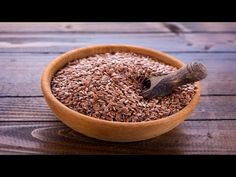 Most of us under estimate flax seeds but they contain lots of nutrients. You just need to know how to eat flax seeds regularly. These seeds contain fibre con. Healthy Recipes, Dog Food Recipes, Great Recipes, Healthy Foods, Healthy Eating, Superfoods, Flex Seed, Heart Healthy Diet, Healthy Groceries