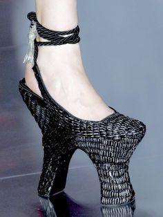 Alexander McQueen Spring/Summer 2008 ok which girl will wear these??????