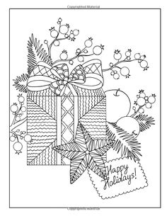 Wonderful Christmas Coloring Book for Adults: Happy Coloring, Stefania Miro: 9781519468475: Amazon.com: Books