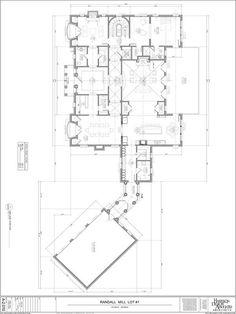 Floorplan of second level