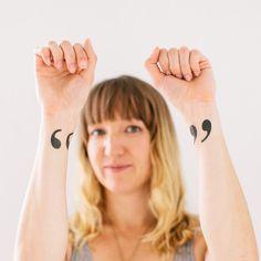 Si no quieres arriesgarte por completo, estos tatuajes temporales te encantarán.
