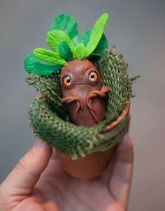 Mandrake by Furrykami-creatures.deviantart.com on @DeviantArt