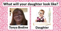 What will your daughter look like?