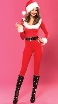 fca8a0acaa18 Bodysuit Santa. Sexy Christmas OutfitChristmas ...