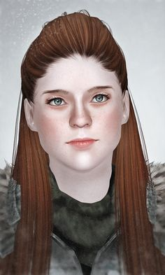 Rose Leslie as Ygritte from Game of Thrones