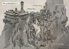 Grasshopper City by CaconymDesign on DeviantArt Fantasy City Map, Fantasy World, Fantasy Castle, Rpg Map, Map Layout, Fantasy Setting, Fantasy Kunst, Map Design, Layout Design