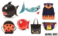 Animal coin purses.