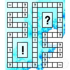 Times Table Board Game to print