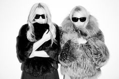 Mary-Kate and Ashley Olsen, shot by Terry Richardson, May 2011