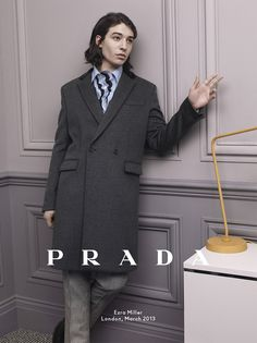 Gentlemans Diary Magazine: Prada Fall/Winter 2013 Campaign