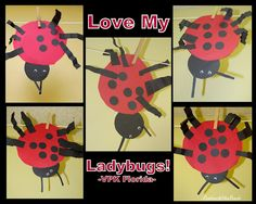 Ladybug Craft for Young Children