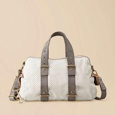 I am in love with you perfect bag.  I love that you can stitch on this bag to personalize it.