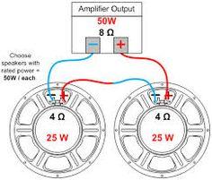 speaker parallel wiring - Google 検索