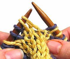 double knitting DECREASE