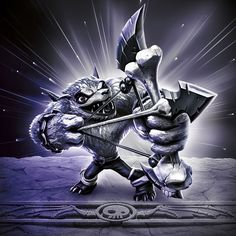 Dark Wolfgang (Sensei) - Visit us at SkylanderNutts.com for more information on Dark Wolfgang, including retailers, reviews, unboxing and gameplay videos and more.