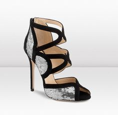 Jimmy Choo - Tempest - These super high sandals are our Art-Deco inspired party shoes; dress them up or down for any occassion.