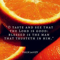 Psalm 34:8 KJV