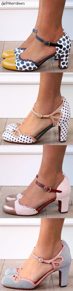 Platform pumps – High Fashion For Women Hot Heels, Fashion Sandals, Shoes Sandals, Creative Shoes, Diy Mode, Casual Heels, Pretty Shoes, Strap Heels, Shabby Chic
