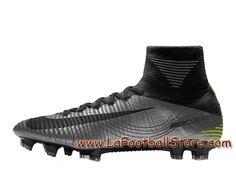 quality design a0fc7 5c064 Nike Mercurial Superfly V Heritage FG Chaussure Officiel NIke de football à  crampons pour terrain sec pour Homme ArgentNoir