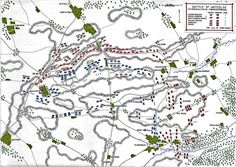 Map of the Battle of Waterloo at on June the Attack of the French Imperial Guard: map 3 by John Fawkes Waterloo 1815, Battle Of Waterloo, Napoleonic Wars, Alter, 18th, June, Map, French, French People