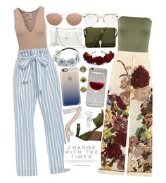 """2016 is the year of realizing things"" by originalprincesstianaaaa ❤ liked on Polyvore featuring WearAll, NLY Trend, Frame Denim, Valentino, Madewell, Elizabeth and James, Full Tilt, Thom Browne, Linda Farrow and Casetify"